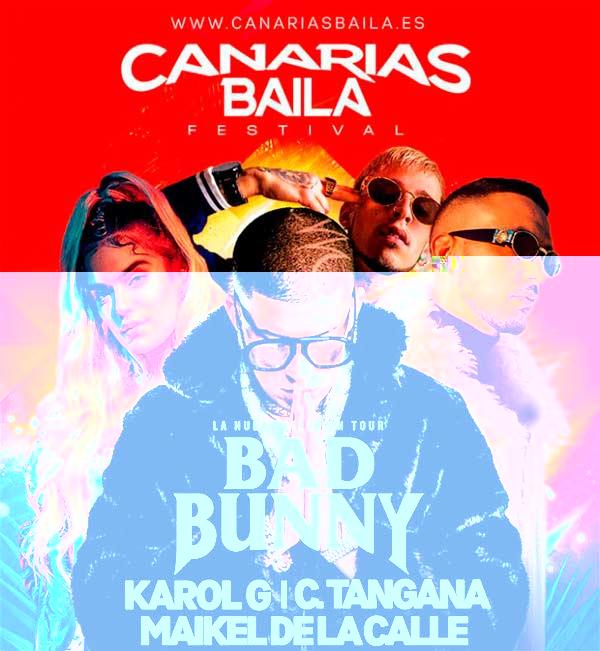 Cartel Canarias Baila 2018