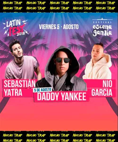 Cartel Daddy Yankee Latin Fest