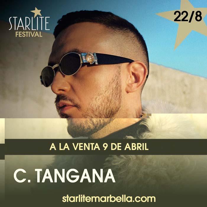 C Tangana Cartel Starlite Festival 2018