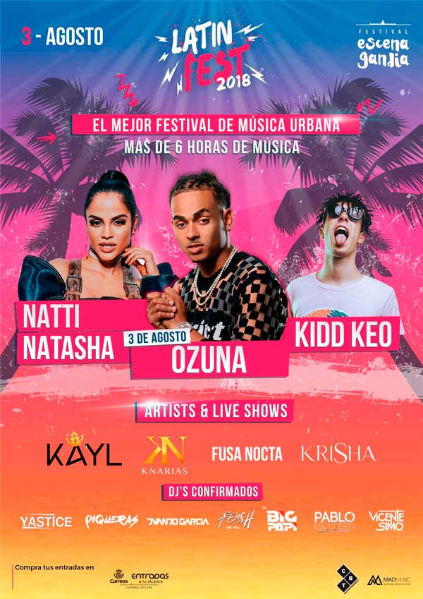 Cartel Ozuna Kidd Keo Latin Fest