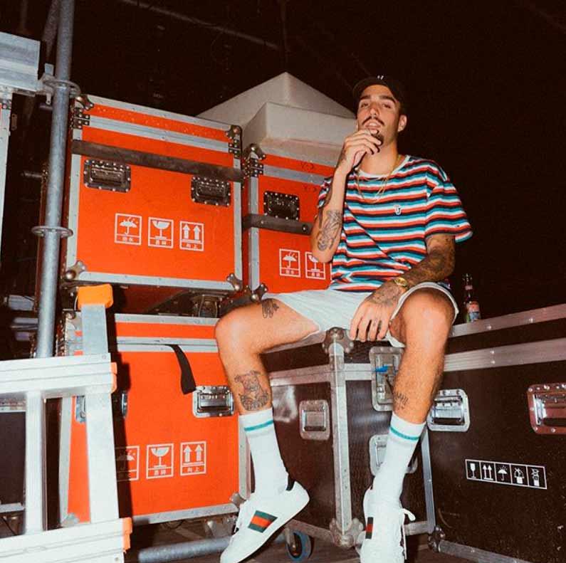 Rels B backstage