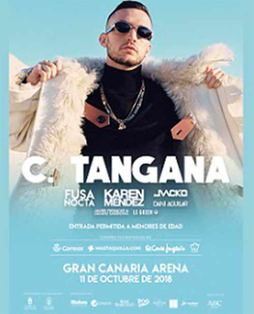 C Tangana Open Air Festival