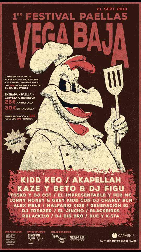 Festival Paellas Vega Baja