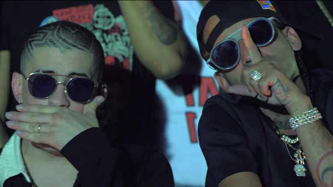 trap latino - arcangel y Bad Bunny