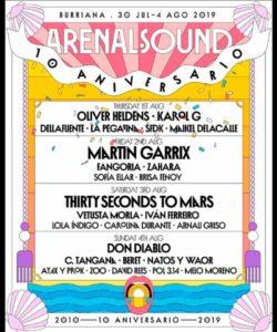 Festival Arenal Sound 2019