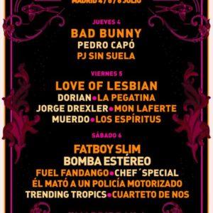 Festival Río Babel 2019 Madrid
