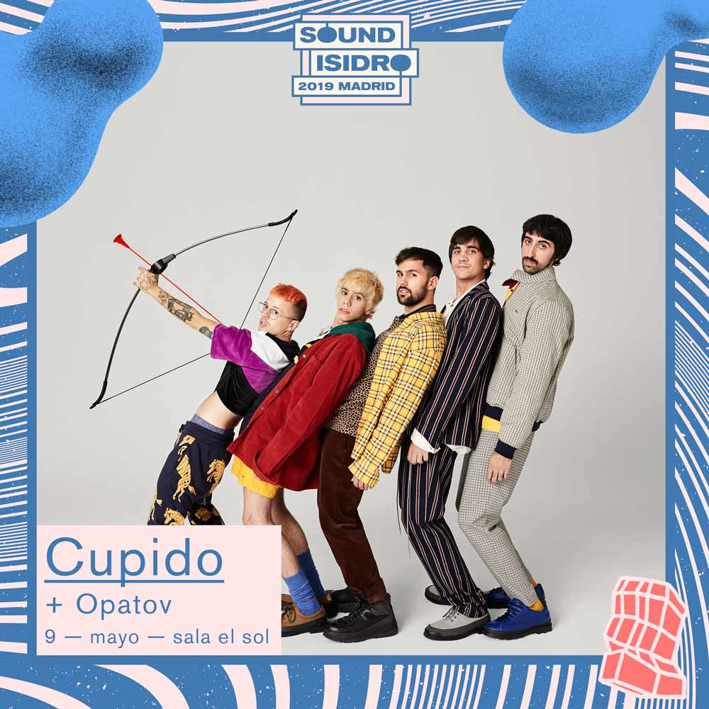 Cartel Cupido en Madrid 2019