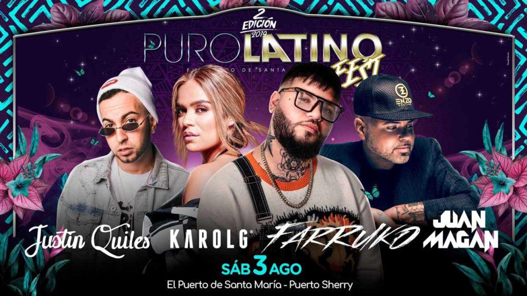 puro latino fest 2019 festival puerto de santa maria cadiz