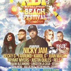 Reggaeton Beach Festival 2019 Benidorm