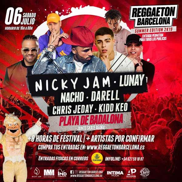 Reggaeton Barcelona Summer Edition 2K19