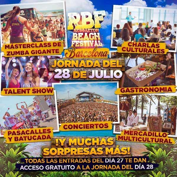 Reggaeton Beach Festival 2019 Barcelona