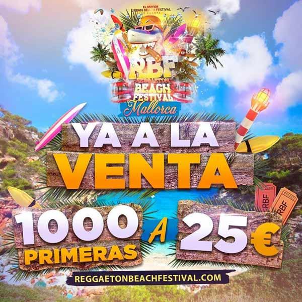 Reggaeton Beach Festival 2019 Mallorca
