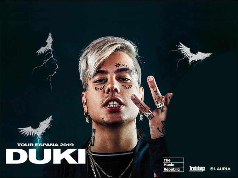 Poster Tour España 2019 Duki