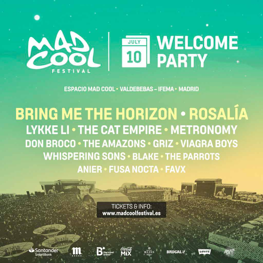 Mad Cool Welcome Party 2019