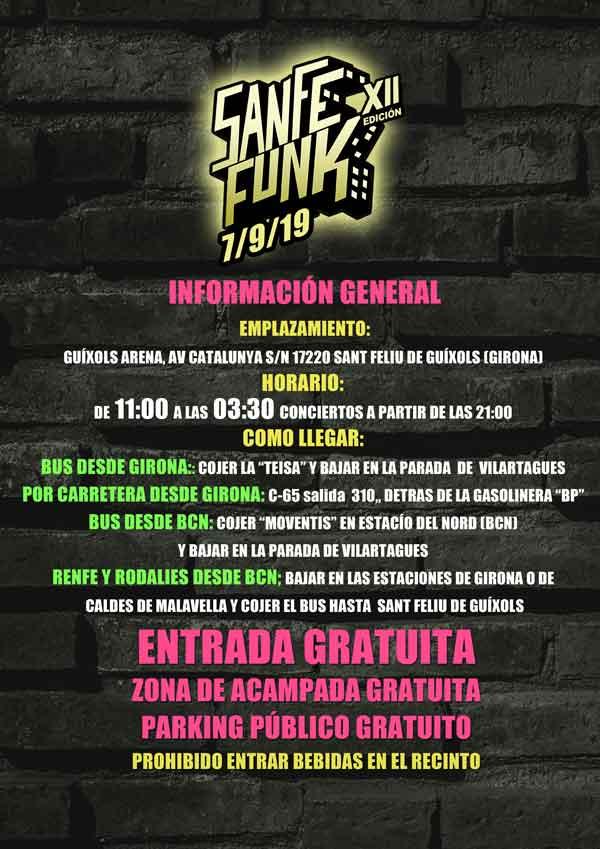 Informacion del Sanfefunk HIP HOP Festival