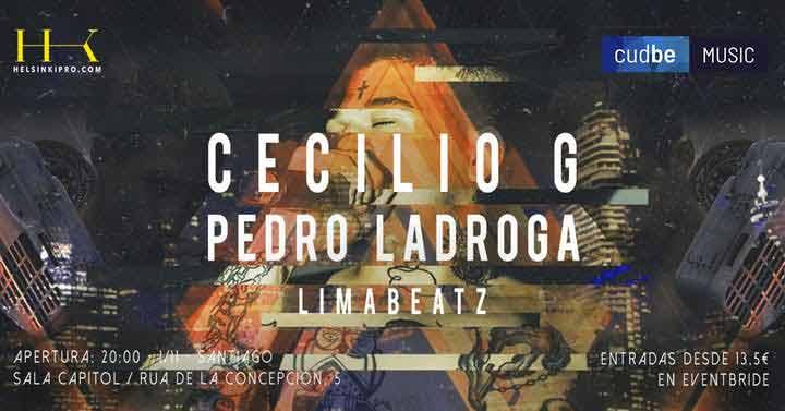 Cecilio G en concierto en La Coruña
