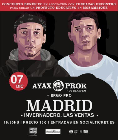 Concierto benéfico Ayax y Prok