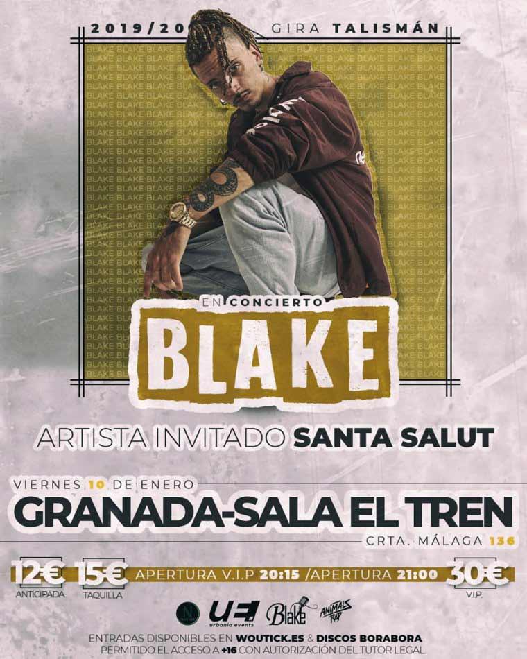 Concierto Blake en Granada