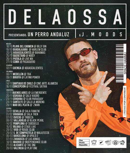 Delaossa en concierto en Madrid
