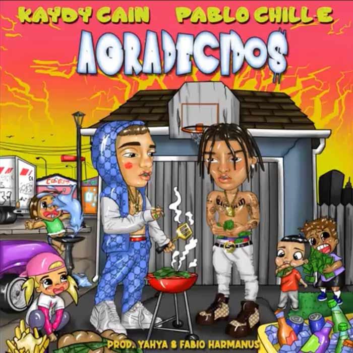 Kaydy Cain y Pablo Chill-e