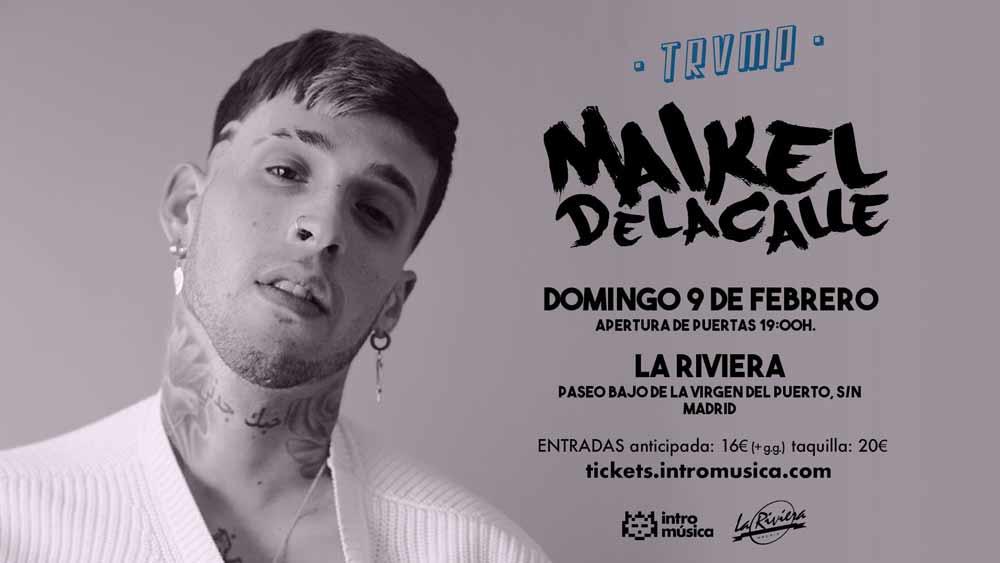 Maikel Delacalle en Madrid