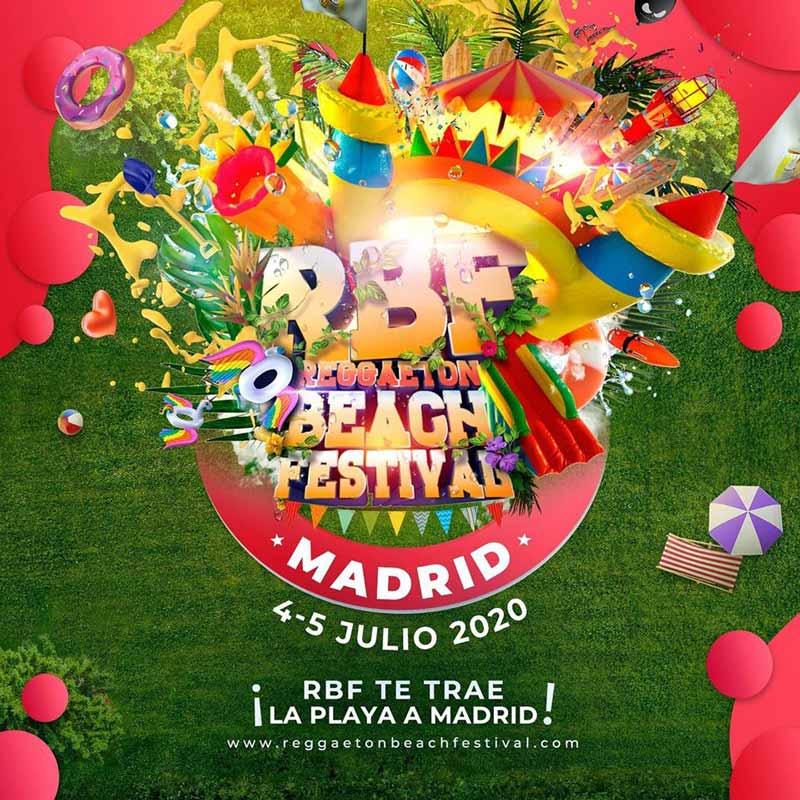 Reggaeton Beach Festival 2020 Madrid