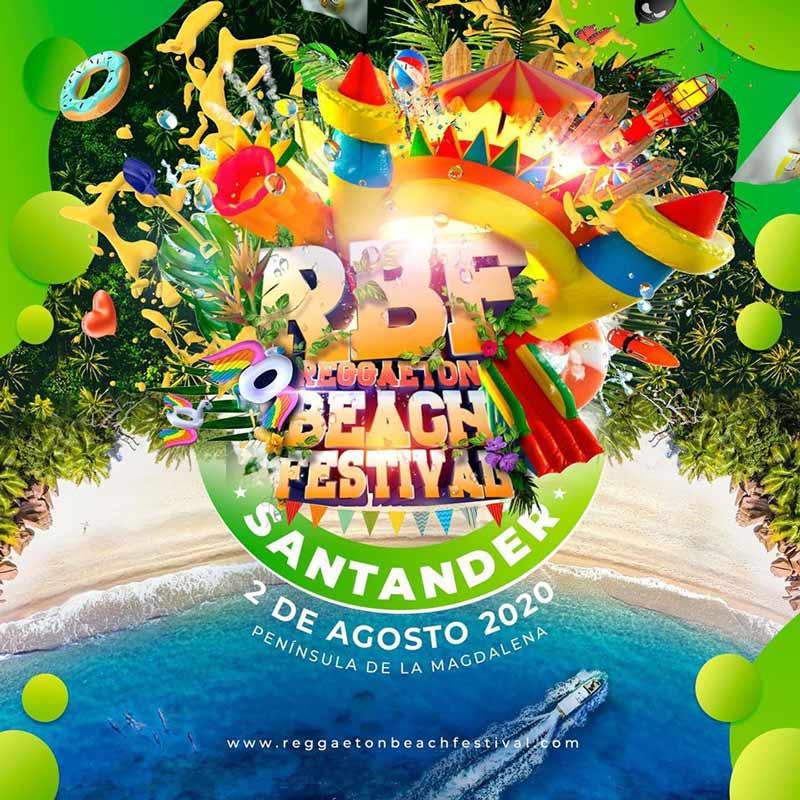 Reggaeton Beach Festival 2020 Santander