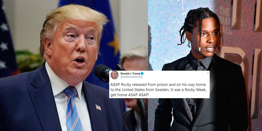 A$AP Rocky sobre su arresto y Trump