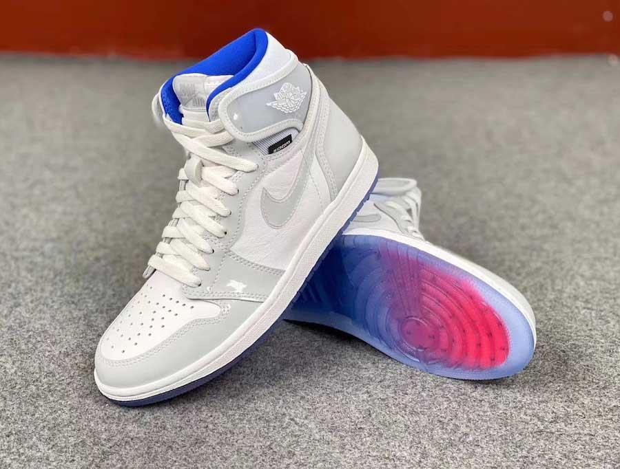 Las nuevas Jordan Air 1 Zoom Racer Blue low cost de Dior y Nike