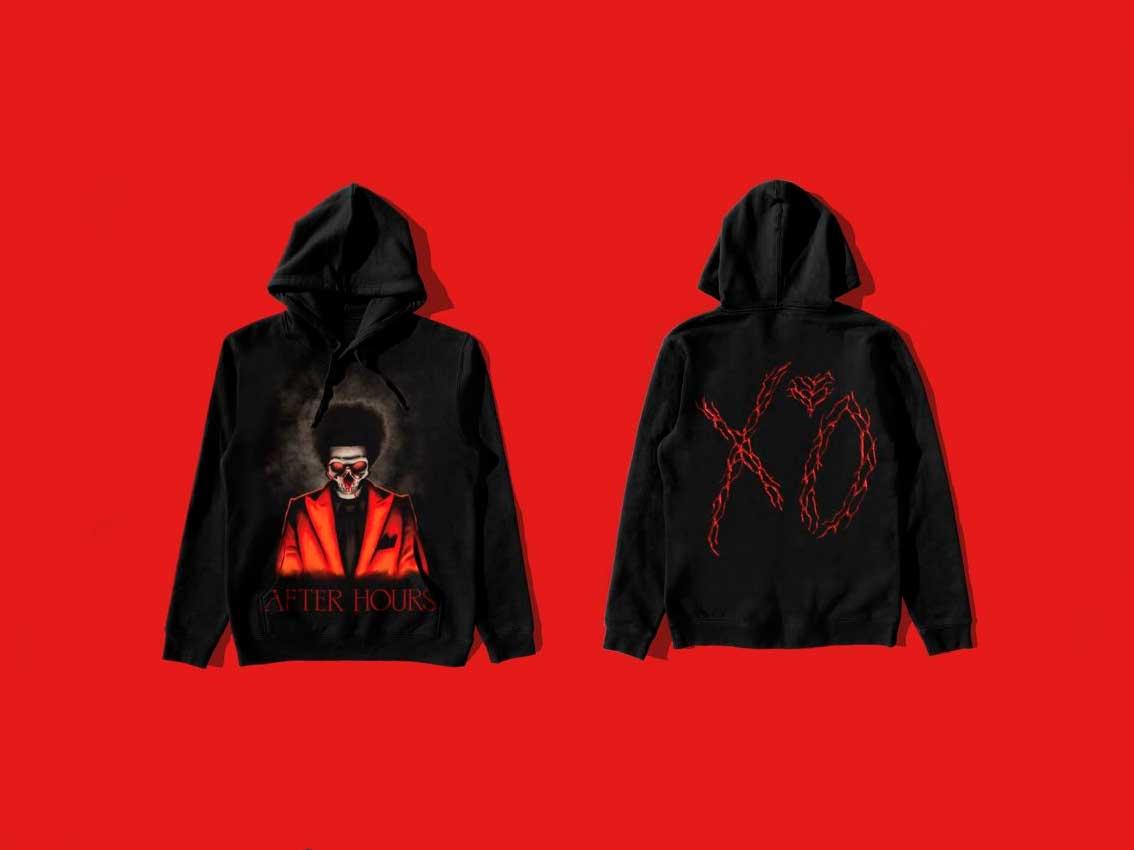 The Weeknd nuevo merch diseñado por A$AP ROCKY
