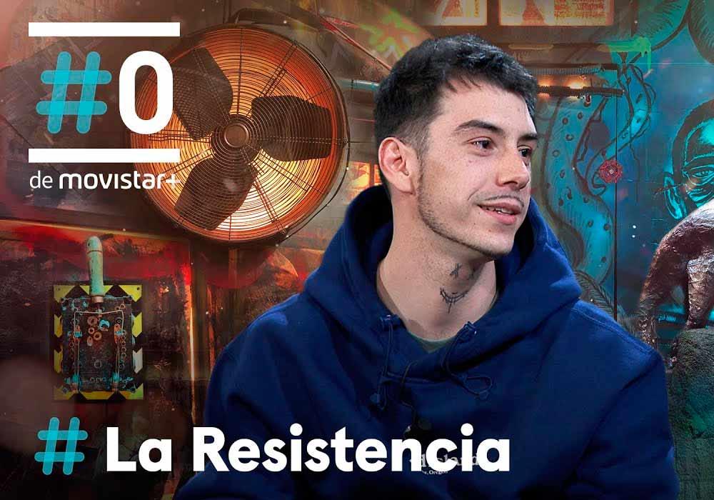 """Entrevistas a artistas de trap en """"La Resistencia"""""""